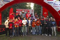 Zwycięzcy Amator na mecie! fot. adventuretrophy.pl