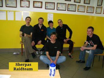Sherpas Raidteam